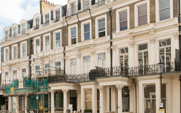 Financed refurbishment (including mezzanine finance) two residential buildings, Earls Court SW5
