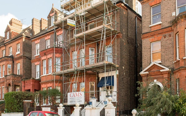 Development loan for completion of eight flats, Frognal Road NW3