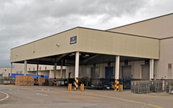 Investment loan for logistics and warehouse centre, Bristol