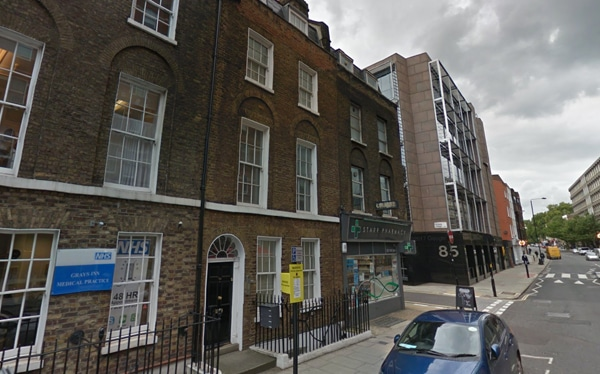 Senior debt and mezzanine finance for acquisition of commercial building, Grays Inn Road WC2