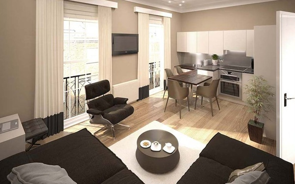 High-end residential development finance, York Street W2