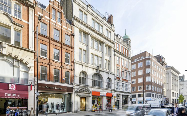 Senior debt and mezzanine finance arranged for acquisition of office block, Oxford Street W1