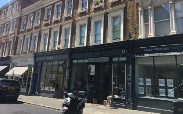 The arrangment of long term facility secured on a mixed use parade of retail, and residential in Kensington Park Road W2